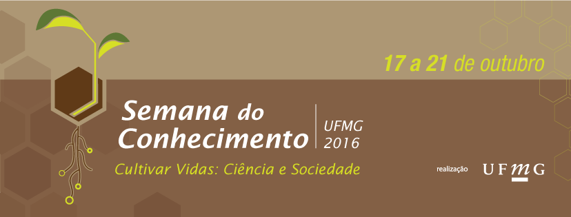 Semana do Conhecimento UFMG 2016. Capa: Faceook