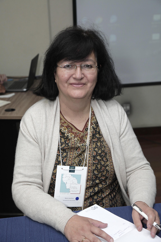 Historiadora Maria Luisa Soux, na Conferência internacional sul-americana: territorialidades e humanidades. Foto: Foca Lisboa/ UFMG