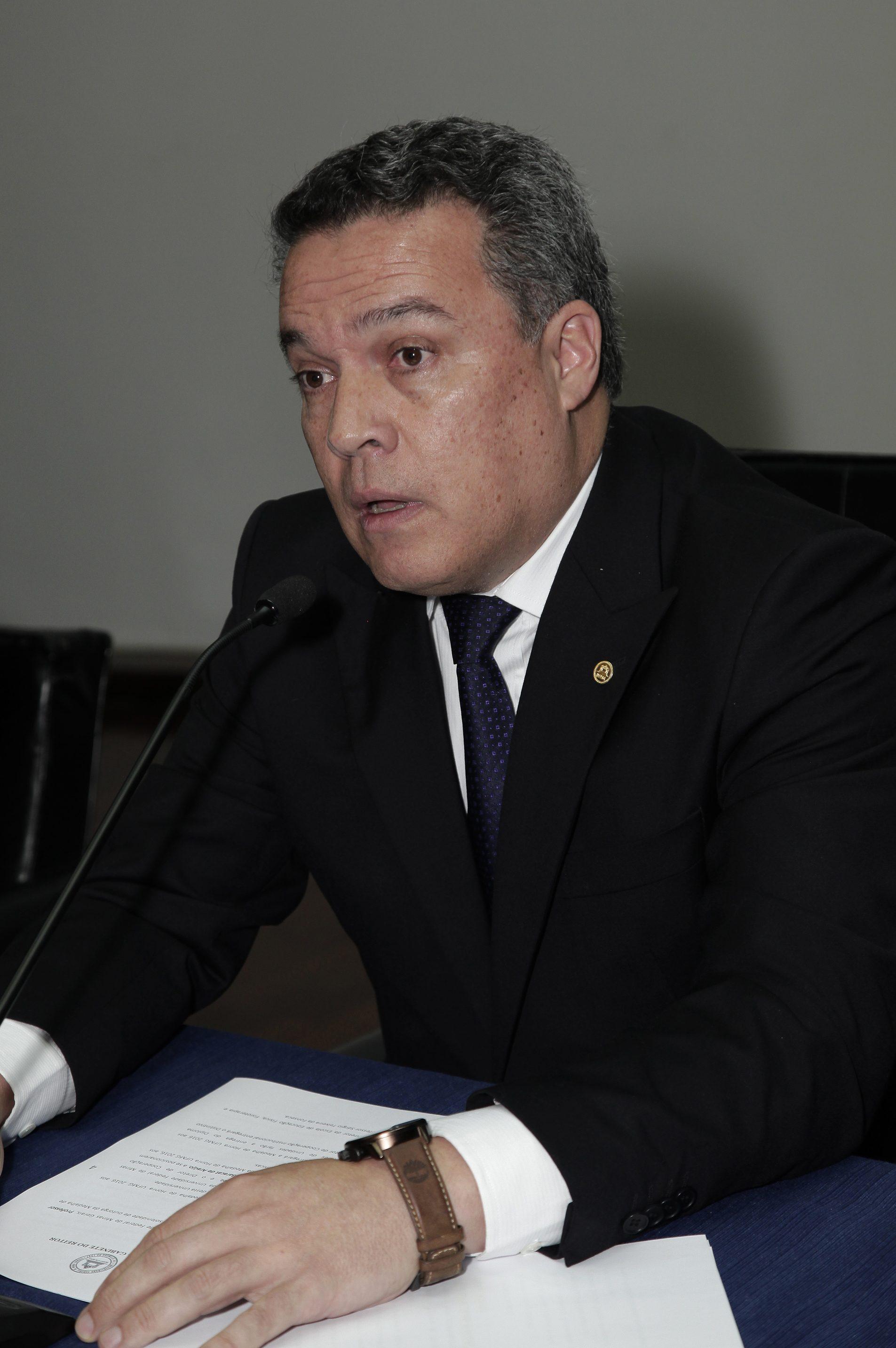 Reitor Jaime Ramirez. Foto: Foca Lisboa/UFMG