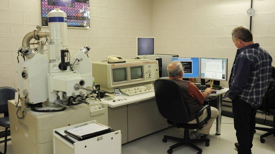 Centro de Microscopia. Fotos: Marina Gontijo / UFMG