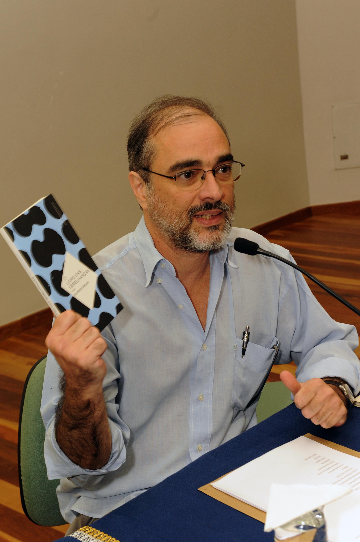 Professor Sérgio Alcides. Foto: Foca Lisboa/ UFMG