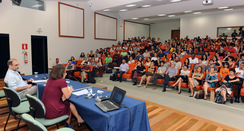 Ciclo de Conferências UFMG, 90 anos. Fotos: Foca Lisboa / UFMG