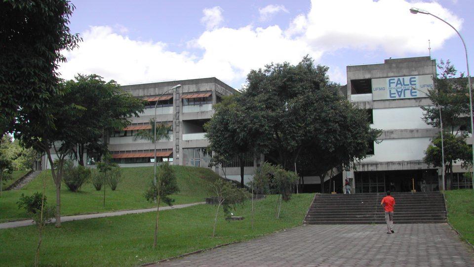 Faculdade de Letras vai sediar parte das atividades do colóquio. Foto: Foca Lisboa/ UFMG