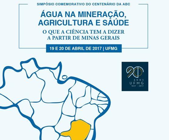 Simpósio promove debate sobre relações da água com mineração, agricultura e saúde.