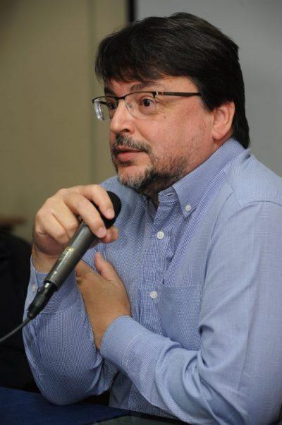 Professor do Departamento de Ciências Econômicas da Face, Hugo da Gama Cerqueira. Foto: Foca Lisboa/UFMG
