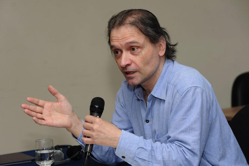 Matemático e cientista político alemão Michael Heinrich. Foto: Foca Lisboa/UFMG
