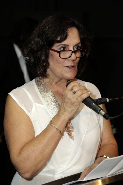 Professora Maria Elena de Perez Garcia, do ICB. Foto: Foca Lisboa/ UFMG