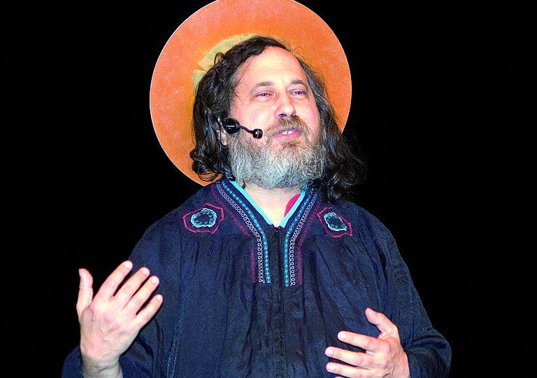 Stallman: crítica à computação móvel e aos 'desserviços bisbilhoteiros'. Foto: Gisle Hannemyr/Flickr/Wikimedia Commons