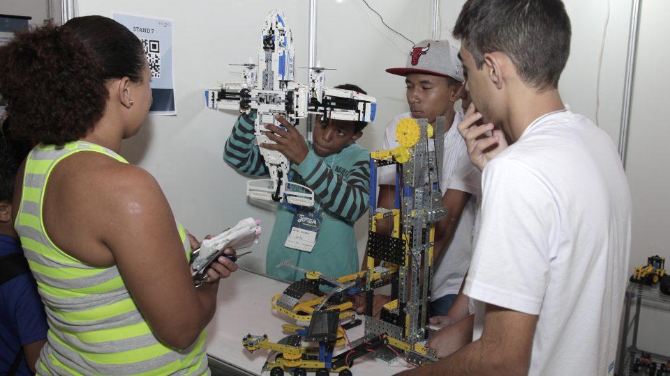 Estudantes participam da edição de 2015 da SBPC Jovem. Foto: Foca Lisboa
