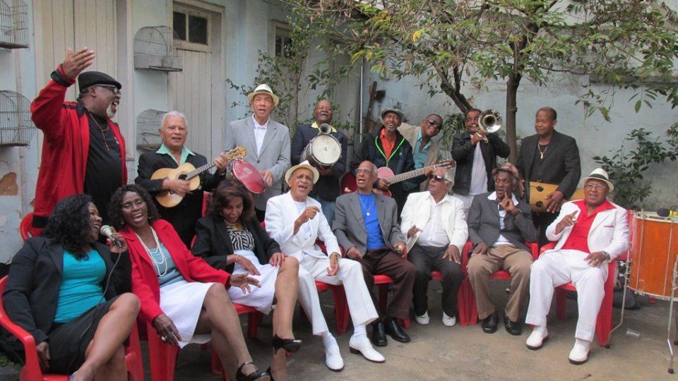 Sambistas da Velha Guarda da capital mineira cantarão seus sucessos em show na SBPC Cultural. Divulgação / Velha Guarda do Samba
