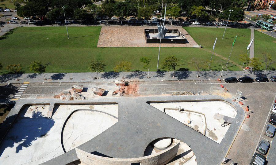 Revitalização do complexo envolve equipe multidisplinar. Foto: Carol Prado/ UFMG
