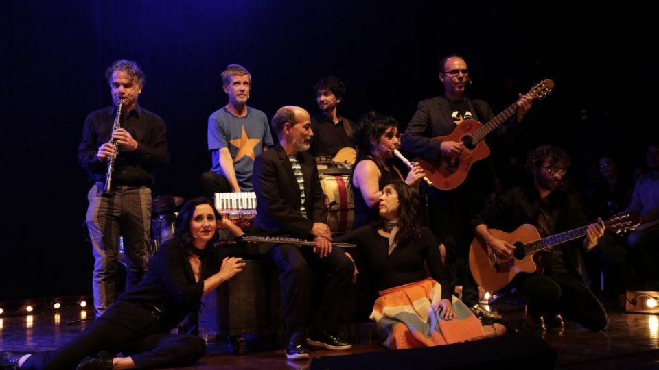 Espetáculo 'De tempo somos'. Foto: Foca Lisboa / UFMG