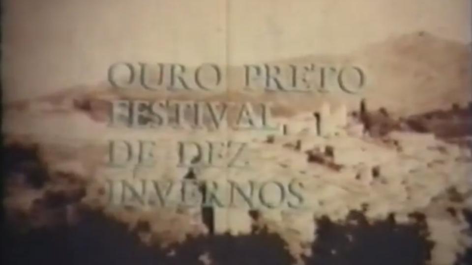 """Documentário """"Ouro Preto Festival de Dez Invernos"""", exibido no programa Panorâmica, da TV UFMG."""
