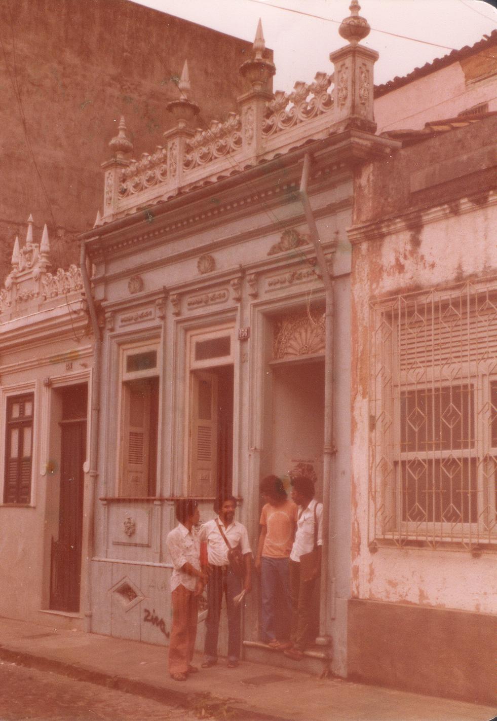 Casa da madrinha de Tomaz, Dora, onde ele residiu em Salvador em 1959. Arquivo pessoal