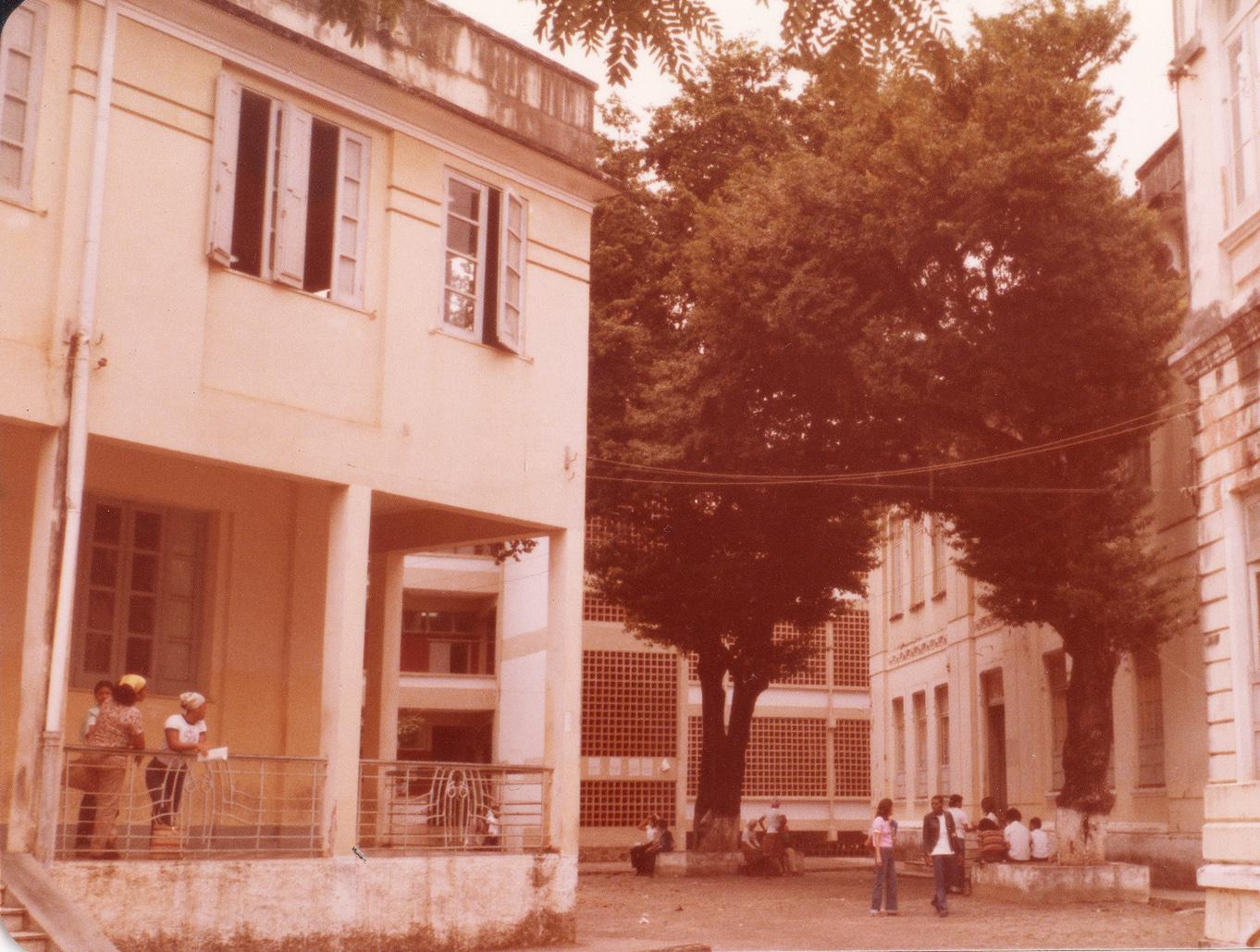 Foto do Colégio Estadual Central da Bahia, em Salvador, onde Tomaz começou o curso médio em 1959. Arquivo pessoal