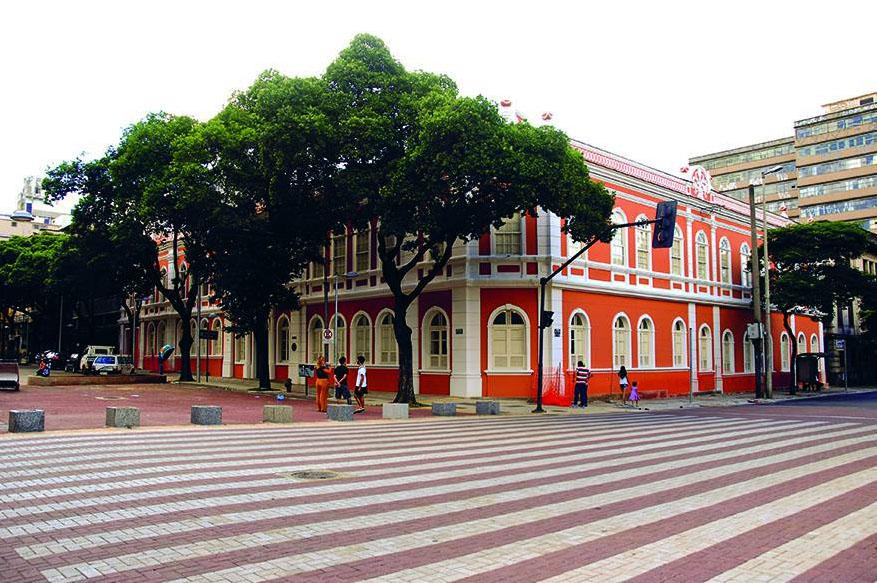Hoje, o mesmo prédio abriga o Centro Cultural da UFMG