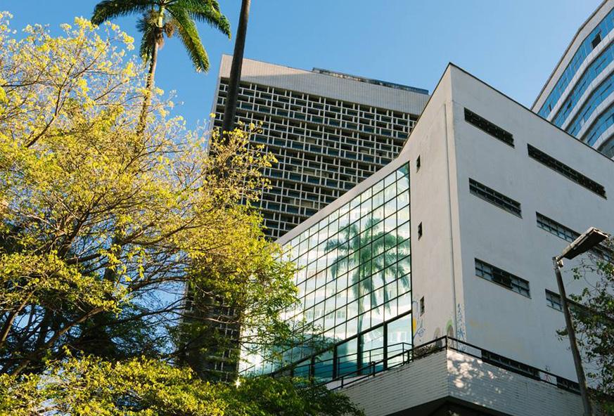 A Faculdade de Direito da UFMG na atualidade. Foto: Lucas Braga/ UFMG