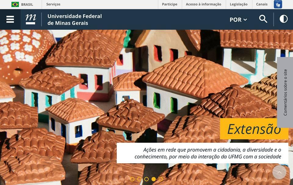 Novo portal UFMG