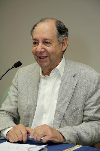 Professor emérito e ex-reitor da UFMG, Clélio Campolina. Foto: Foca Lisboa / UFMG