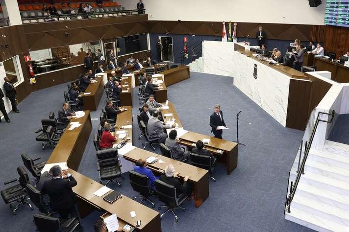 Plenário da Câmara: proposta foi do vereador Arnaldo Godoy. Foto: Abraão Bruck / CMBH