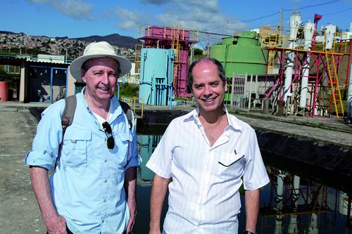 Carlos Lemos e Marcos von Sperling: alternativas de tratamento documentadas em livros