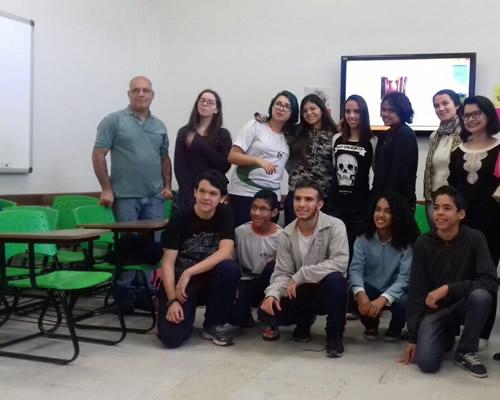 Eliezer Raimundo e os estudantes que vão para a China em intercâmbio