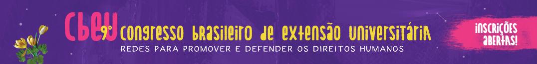 Banner 9 CBEU. Inscrições Abertas. 1076x130