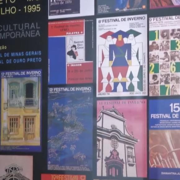 """Exposição """"Festival de Inverno da UFMG: 50 anos de arte, cultura e conhecimento"""""""