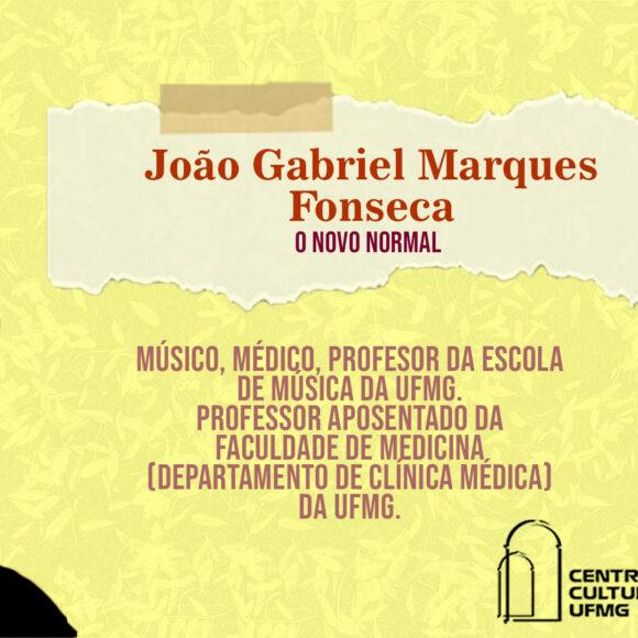"""Aulas Abertas #3: """"O novo normal"""" – João Gabriel Marques Fonseca"""
