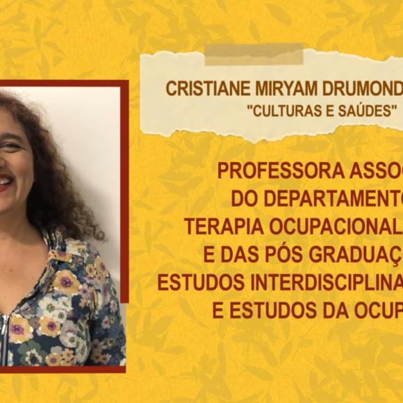 """Aulas Abertas #4: """"Culturas e Saúdes"""" – Cristiane Miryam Drumond de Brito"""