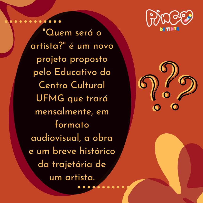 Quem será o artista? – 03.05.2021