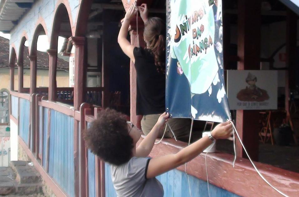 Projeto Universidade das Crianças. Foto: Autor desconhecido/2011.