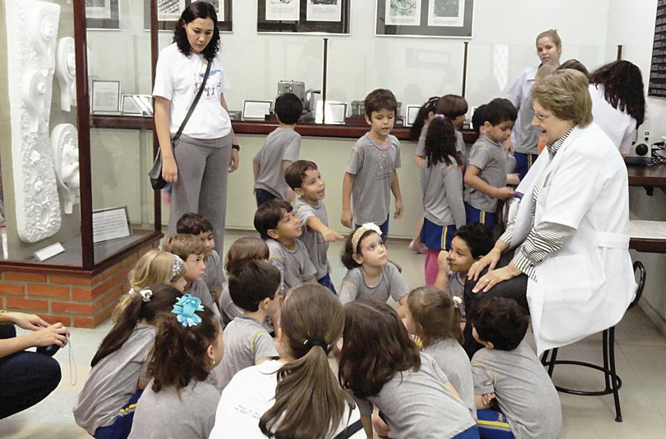 Projeto Cientista Mirim. Foto: Acervo do Museu de Ciências Morfológicas/2013.