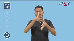 Vídeoprova - Letras Libras