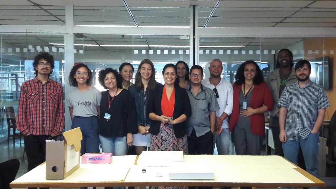 Diarq participa do curso de Conservação de Acervos Arquivísticos em suporte de papel