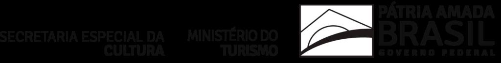 Cartela de marcas - Secretaria Especial da Cultura - Ministério do Turismo - Governo Federal