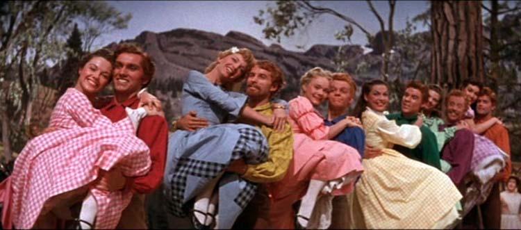 Image result for sete noivas para sete irmãos