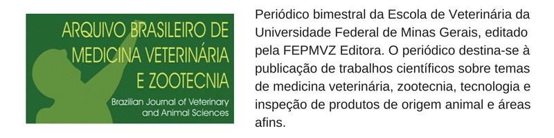 arquivo brasileiro de medicina vet e zoot