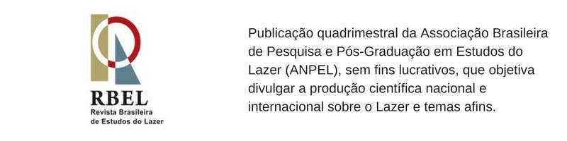 revista brasieira de estudos do lazer