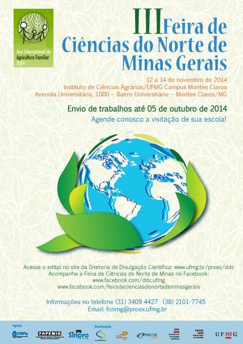III Feira de Ciências do Norte de Minas Gerais