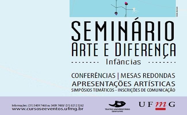 II Seminário Arte e Diferença: Infâncias