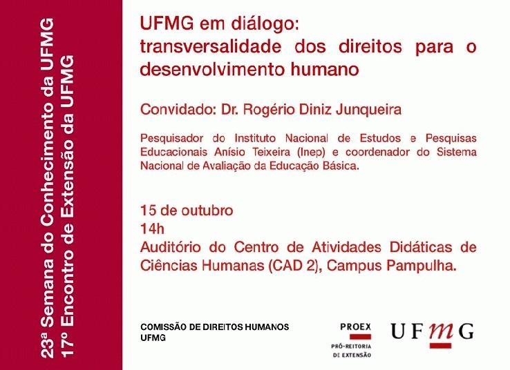 Convite para Seminário – UFMG em Diálogo