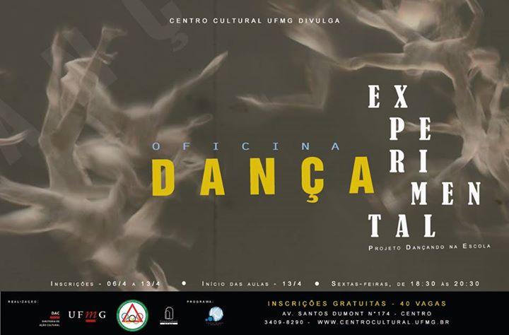 Centro Cultural UFMG recebe inscrições para Oficina de Dança Experimental