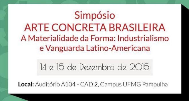 Simpósio discute projeto que investiga técnicas e materiais da arte concreta no Brasil