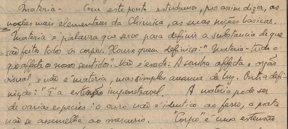 Faculdade de Farmácia expõe documentos inéditos dos anos de formação de Carlos Drummond de Andrade