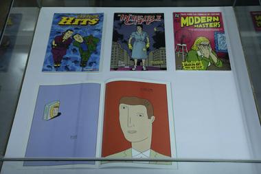 'Gibis' reúne na Biblioteca Central livros de artista com elementos de HQs