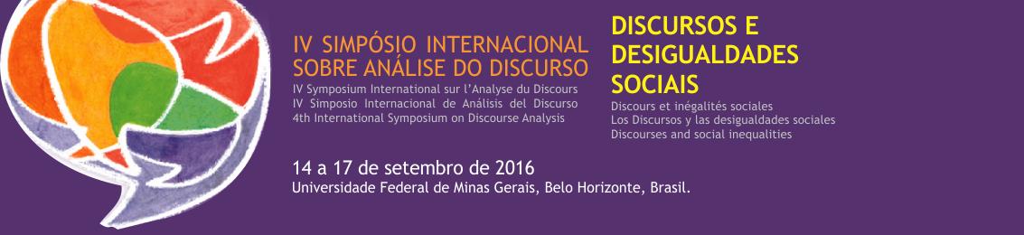 Prorrogadas inscrições de trabalhos para simpósio internacional de análise do discurso