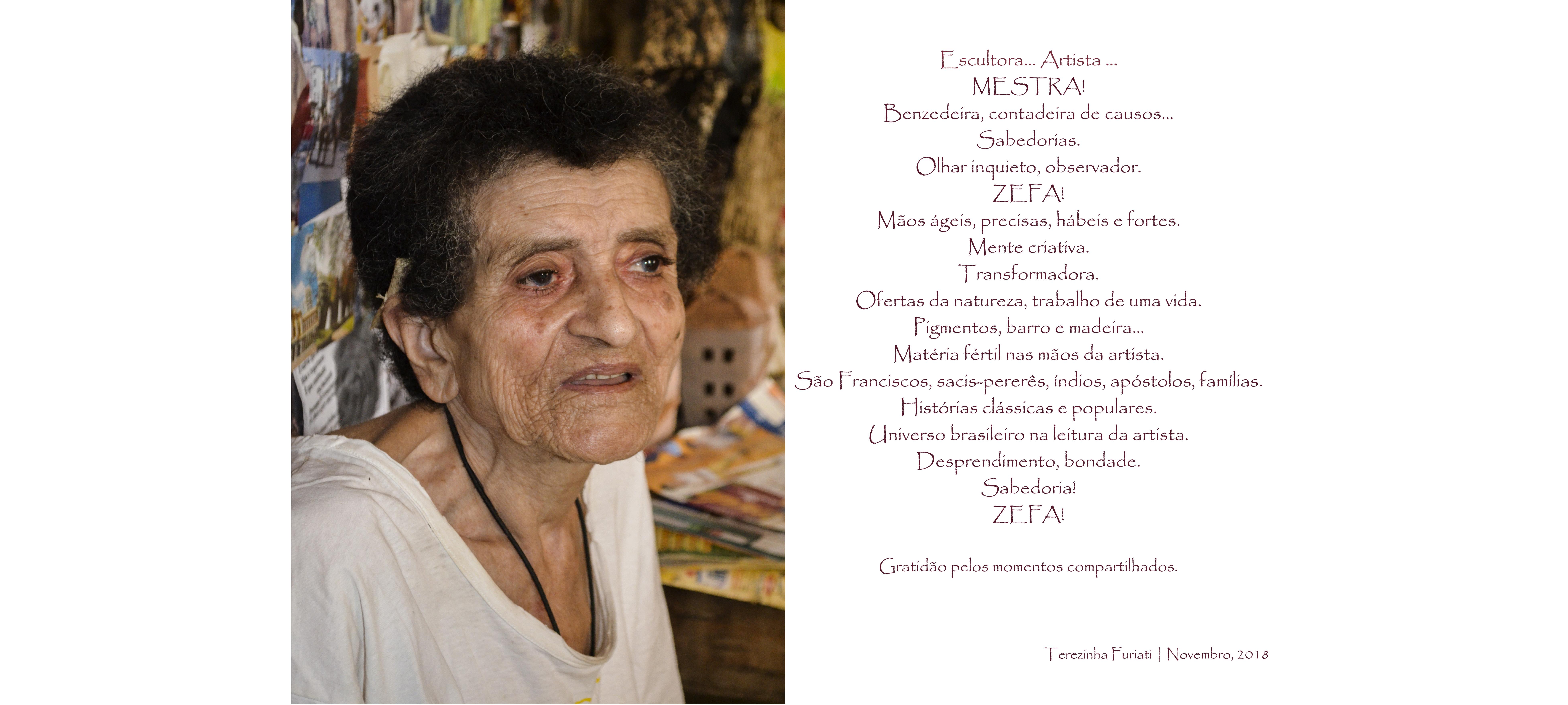 Homenagem a Mestra Zefa